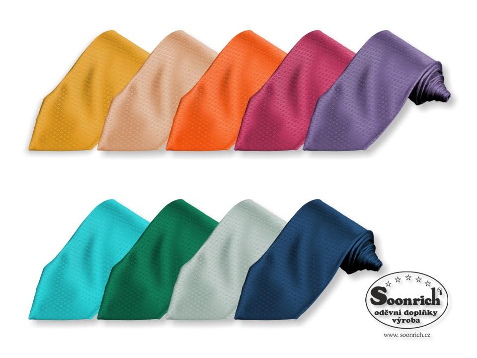 kravaty tkané